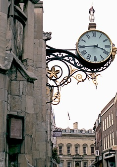Clock in York , England