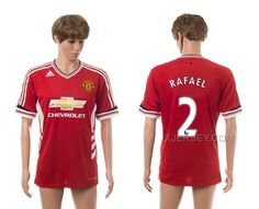 http://www.xjersey.com/201516-manchester-united-2-rafael-home-thailand-jerseys.html Only$35.00 2015-16 MANCHESTER UNITED 2 RAFAEL HOME THAILAND JERSEYS #Free #Shipping!