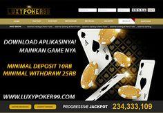 Langkah-Langkah untuk bermain di Luxy Poker Online menggunakan APK , tentunya anda bisa melakukan Daftar Poker Online Indonesia di Luxy Poker 99.