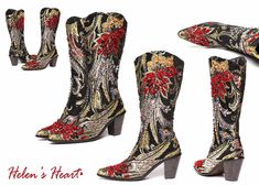 Sequin boots from Silver Spur Boutique