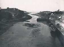 DOUARNENEZ c. 1900 - 6 Photos Port Vues Finistère Bretagne - L 17