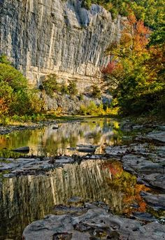Steele Creek, Arkansas  Buffalo National Wilderness