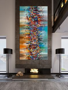 Paintings Jackson Pollock Abstract Art Antique Oil Painting Style, Diamond Painting contemporary wall art on Canvas by Maitreyii, Large Painting, Oil Painting Abstract, Acrylic Painting Canvas, Oil Paintings, Abstract Canvas Art, Canvas Wall Art, Jackson Pollock, Contemporary Wall Art, Large Wall Art