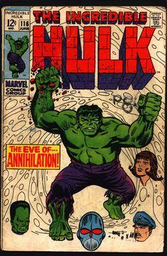 Incredible HULK #116 Stan Lee Herb Trimpe 1st Appearance of Super Humanoid Robert Bruce Banner
