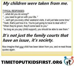 """True or False? """"Parental Alienation is a tactical ploy used by attorneys whose clients (primarily fathers) are seeking custody of their children. Family Betrayal, Reality Of Life Quotes, Fathers Rights, Parental Rights, Child Protective Services, Family Law Attorney, Family Court, Mom Quotes, Kids And Parenting"""