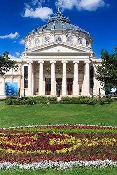The Romanian Athenaeum in Bucharest was opened in Concrete Building, Free Man In Paris, National Stadium, Beste Hotels, Urban Fabric, Urban Life, Urban Planning, Brutalist, Arquitetura
