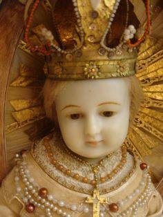 Enfant Jésus en cire . Fin XVIII ème siécle