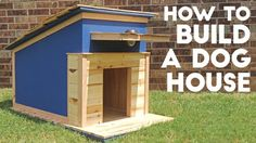 Follow along as Modern Builds builds a dog house and then try the project out for the furry friend in your life! #diy