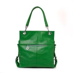 Minitoo Womens Fashion Genuine Leather Shoulder Bags Crossbody Handbags Green