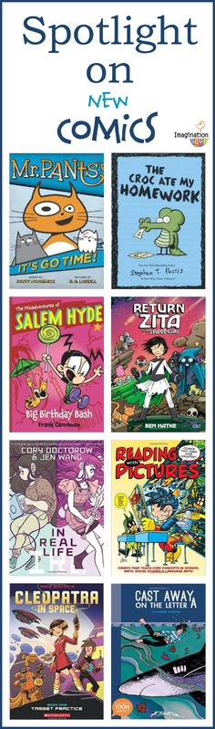 can't wait to get some of these --> NEW & recommended comic books that your kids will love. (via Imagination Soup)