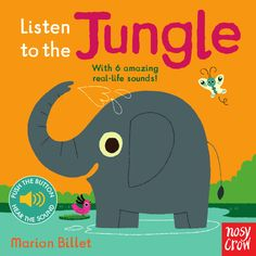 Listen to the Jungle, illustrated by Marion Billet. Find out more: http://nosycrow.com/product/listen-to-the-jungle/