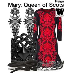 Inspired by Adelaide Kane as Mary, Queen of Scots on Reign. #television #wearwhatyouwatch