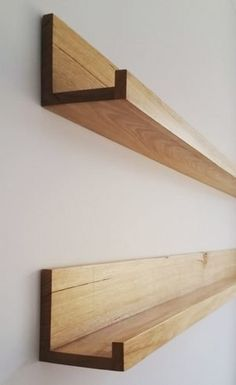 A Great way to enhance your entrance hallway or kids bedroom. A Great way to enhance your entrance hallway or kids bedroom. Picture Shelves, Ikea Picture Ledge, Photo Ledge, Diy Regal, Shelves In Bedroom, Hallway Shelving, Wood Shelves, Storage Shelves, Floating Shelves Diy