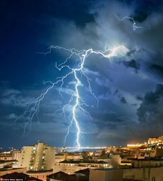 Oh, nature puts on some scary light shows all right. Photographer Stefano Garau shot a series of pictures of a giant storm cell lit up from the inside by lightning, straight from the balcony where he lives in South Sardinia. He went on to merge and show the most visible lightning in the post production […]