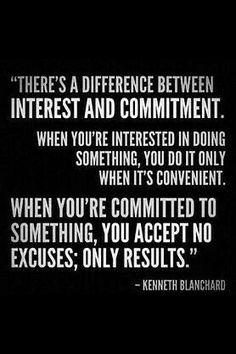 Interest|Commitment