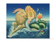 Capricorn, 1992 Giclee Print by Frances Broomfield at AllPosters.com
