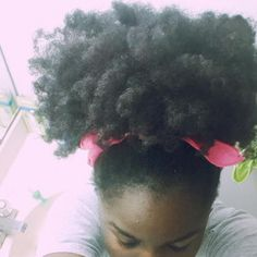 Click the image for Aboyowa's natural hair photos and regimen