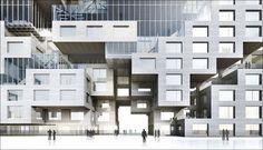 Arquitectura Quantumm: DnB NOR concentrado en la bahía de Bjorvika Oslo