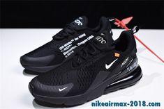 Off White X Nike Air Max 270 Summer Mens Sneaker Black Nike Air Max Nike Air Max For Women Air Max 270