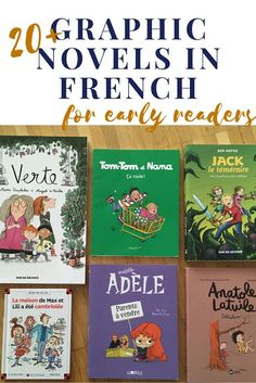 graphic novels in French for young readers (ages 6 to Learning French For Kids, Teaching French, Teaching Spanish, Spanish Activities, Learning Italian, French Language Lessons, French Lessons, Spanish Lessons, German Language Learning