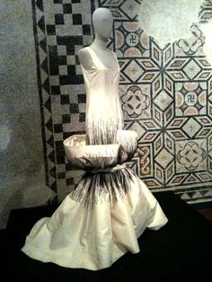 Roberto Capucci perhaps not designed as a wedding dress as such, but I think this is absolutely wedding worthy for a bride who wants something just a little different