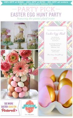 Easter Egg Hunt Party #PartyInvitations