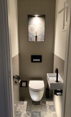 Wc Design, Toilet Design, House Design, Washroom Design, Bathroom Design Small, Small Toilet Room, Small Sink, Downstairs Toilet, Bathroom Styling