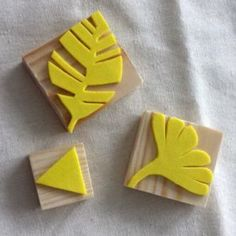 Homemade: Rubber foam stamp - DIY Crafts for Kids Diy Crafts To Do, Diy Crafts For Kids, Art For Kids, Arts And Crafts, Paper Crafts, Foam Stamps, Handmade Birthday Gifts, Stamp Carving, Fabric Stamping