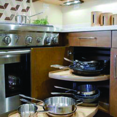 Good corner kitchen cabinet accessories to refresh your home