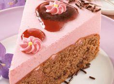 Rotwein-Sahne-Torte