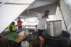 UNHCR TRACKS |   A Swedish Chef Serves Hot Meals to Refugees