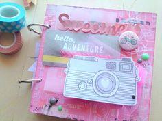 Love Paper: Mini album yes please . Mini Albums Scrap, Mini Scrapbook Albums, Amy Tangerine, Cinta Washi, Pocket Letters, Album Book, Handmade Books, Art Journal Inspiration, Smash Book