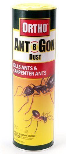 Ortho 0253810 Ant-B-Gon Ant Killer Dust with Shaker Top - 1.25 lb. by Ortho. $19.99. Creates a barrier to prevent entry. Treat all areas of entry. Kills ants and carpenter ants. From the Manufacturer                Kills ants and carpenter ants. Treat doors, around window frames, ant trails and hills, cracks and crevices and other areas of entry. Creates a barrier to prevent ants from entering the home and controls existing ant problems.                            ...