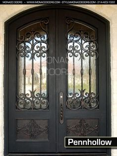 custom gates | All iron doors come in a variety of sizes or your own custom size.