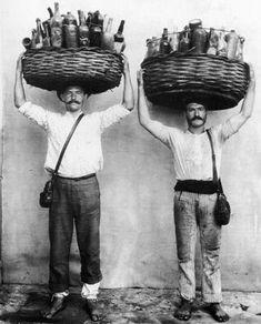 Ferrez: Garrafeiros, Rio de Janeiro, 1895.