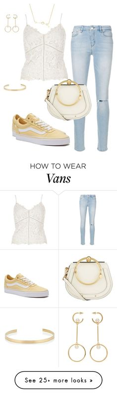 """""""Senza titolo #69"""" by styledbydaxy on Polyvore featuring River Island, Love Moschino, Vans, Chloé and Jennifer Fisher"""