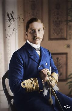 Kaiser Wilhelm II, final sovereign of the House of Hohenzollern, the last King of Prussia, and the third and last Emperor of Germany. Wilhelm Ii, Kaiser Wilhelm, Victoria And Albert, Queen Victoria, German Royal Family, Royal Collection Trust, King Of Prussia, Age Of Empires, Royals