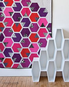 Elizabeth Hartman –– Modern quiltmakers…time to take the next step! Are you ready for the next level of creative patchwork? Bring Elizabeth Hartman's innovative style into your home...she's back with