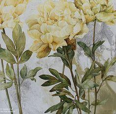 Linda Thompson, 'Texture Line et Colour', 24'' x 24'' | Galerie d'art - Au P'tit Bonheur - Art Gallery