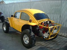 Penhall Fabrication yellow baja bug