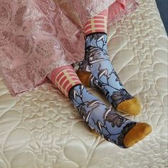 We love The Gran Glam Collection from @stancesocks. Shop our favorites in the link in our bio  #stancesocks #stance #aw16 #granny #grannychic #socks #pink  Discover Roo's Beach's Instagram Feed with Have2Have.It