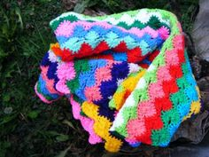 crochet blanket woven blanket 100% acrylic.  crochet