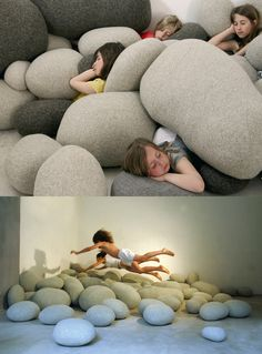 puffy fake rocks-brilliant