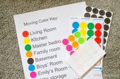 If you're moving this summer, consider using this super simple color key system. | 7 Easy Organizing Tricks You'll Actually Want To Try