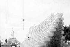 I n  t h e  m a k i n g  @SerpentineUK #Pavilion by @bjarkeingels #architecture #archidaily #archilovers #archiporn #symmetrykillers #agameoftones #vscophile  #London #ldn4all #igers #igerslondon #thisisLondon #timeoutlondon #londonlive #visitlondon #shutup_London #Londonforyou #vscolondon #ig_worldclub #igs_europe #london_enthusiast #ILoveLondon #maybeldner #unlimitedlondon #cityoflondonpics #citygram #thebigsmokelondon