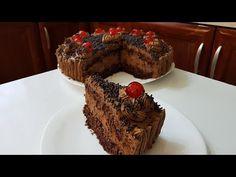 Εύκολη σοκολατίνα!!! - YouTube Nigella, Greek Recipes, Chocolate Cake, Muffin, Sweets, Breakfast, Desserts, Christmas, Food