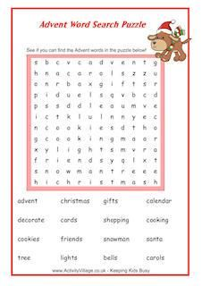Puzzles For Kids - Kids Puzzles, Word Searches, Crosswords, Sudoku, Mazes, Online Puzzle Games Free Kindergarten Worksheets, Free Printable Worksheets, Free Printables, Activities For 6 Year Olds, Advent Calendar Activities, Advent Calendars, Christmas Word Search, Christmas Words, Christmas Nativity