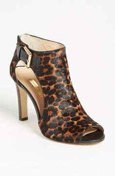 Leopard Brown Bootie