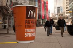 McDonald's Huge Coffee Cup.    #McDonalds #Cup #Coffee