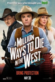 A Million Ways to Die in the West (2014) movie #poster, #tshirt, #mousepad, #movieposters2